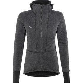 Devold Tinden Spacer Capuchon Jas Dames, anthracite